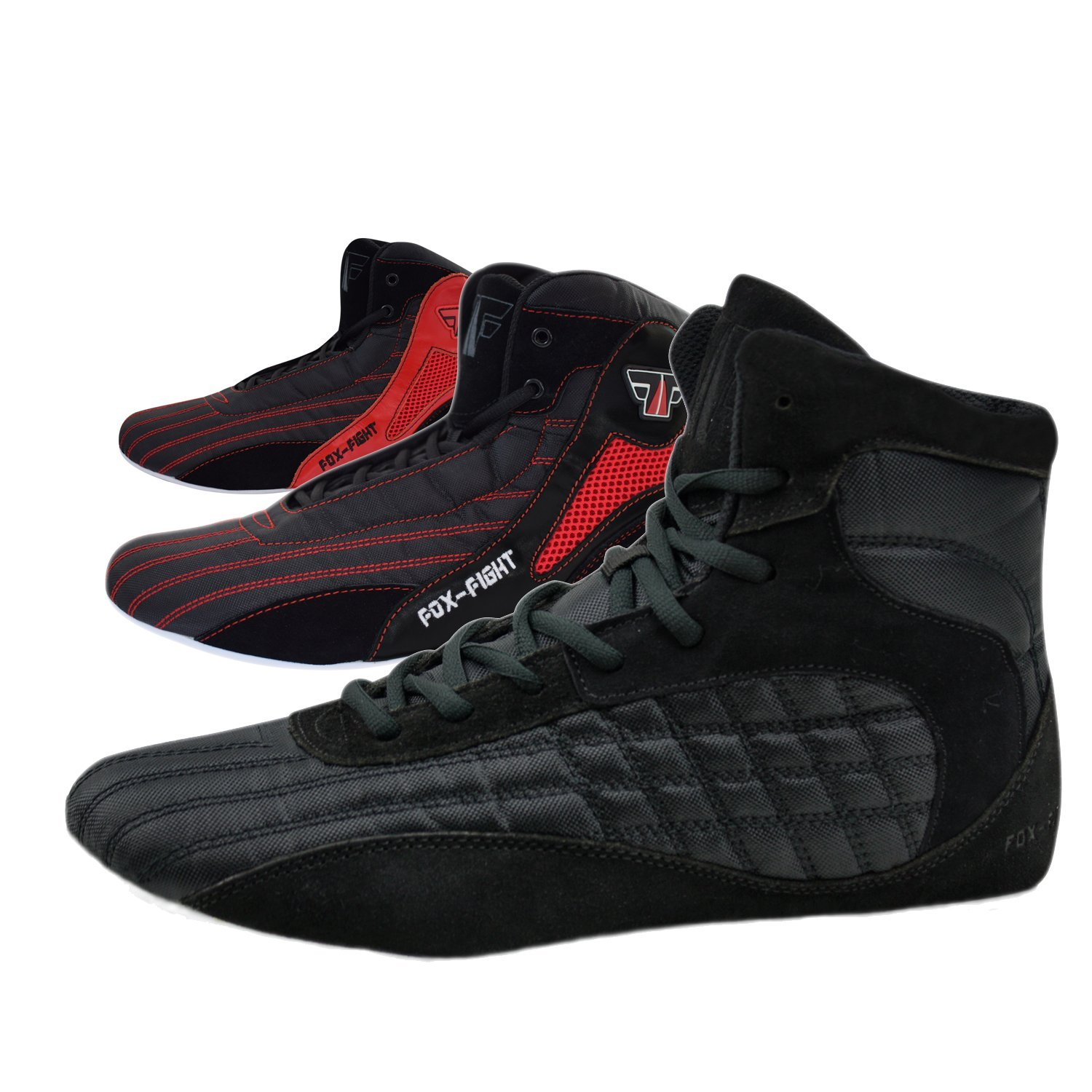FOX-FIGHT Chaussures de lutte / de boxe / de fitness / de bodybuilding