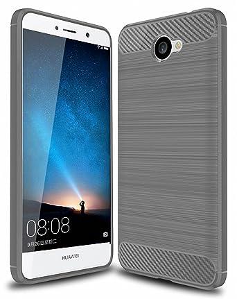 Amazon.com: Huawei Ascend XT 2 funda sunyu Frosted Shield ...