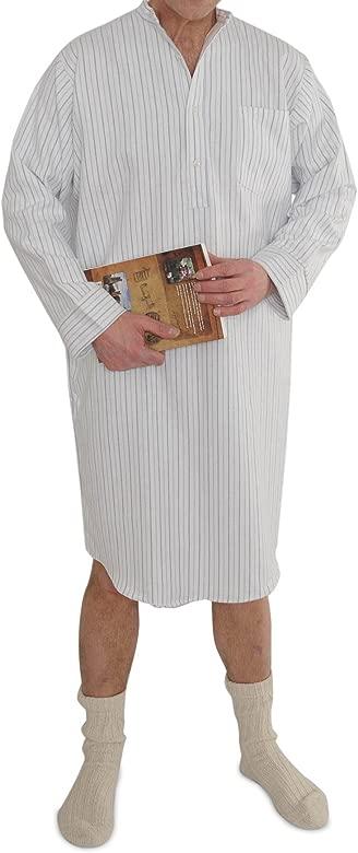 Sizes: Small to 3XL Grandfather//Grandad Nightshirts Cotton Irish//Ireland Classic