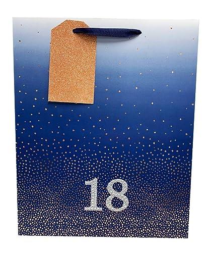 Bolsa de regalo de 18 cumpleaños para niños, tamaño grande ...
