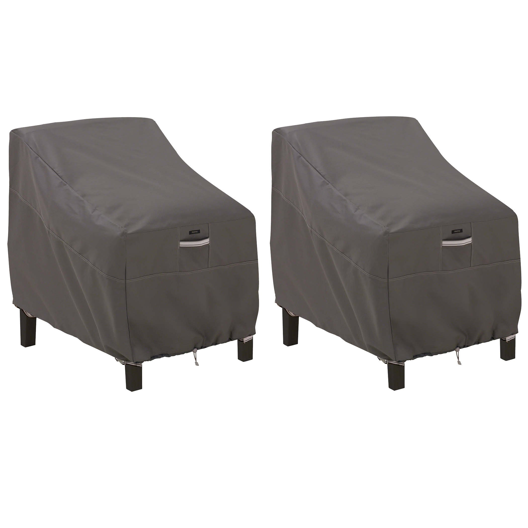 Classic Accessories 55-422-015101-2PK Ravenna Deep Seated Patio Lounge Chair Cover (2-Pack)