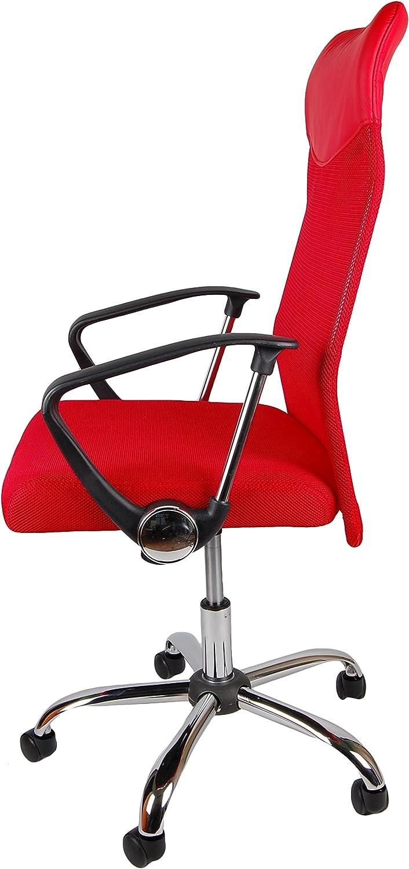 silla de oficina ordenador silla Respaldo alto silla de oficina de malla ergon/ómico silla de escritorio. Ergon/ómico BSX Silla gaming para ordenador Marr/ón adolescente juego silla