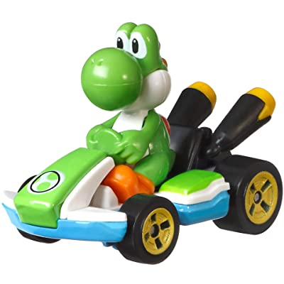 Hot Wheels Yoshi Kart: Toys & Games