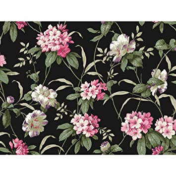 Amazon York Wallcoverings Casabella Ii Rhododendron Floral