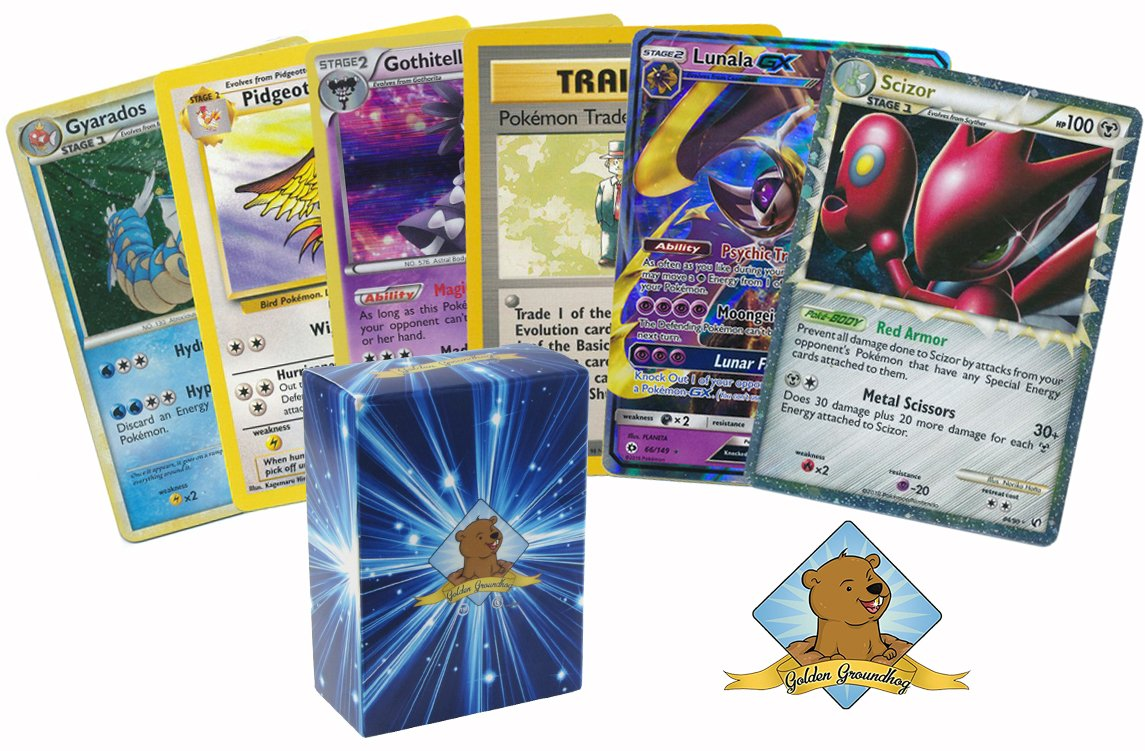 All Rares & Holos Pokemon Card Lot of 6! Ultra Rare, EX, Mega EX, LV.X Guaranteed 1 GX Pokemon By Golden Groundhog