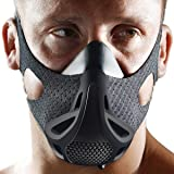Opard Workout Mask 3.0 4-Level Altitude Elevation Simulating Oxygen Resistance Training for Running Jogging Athletic Fitness Exercise Sports (Large/Medium/Small)