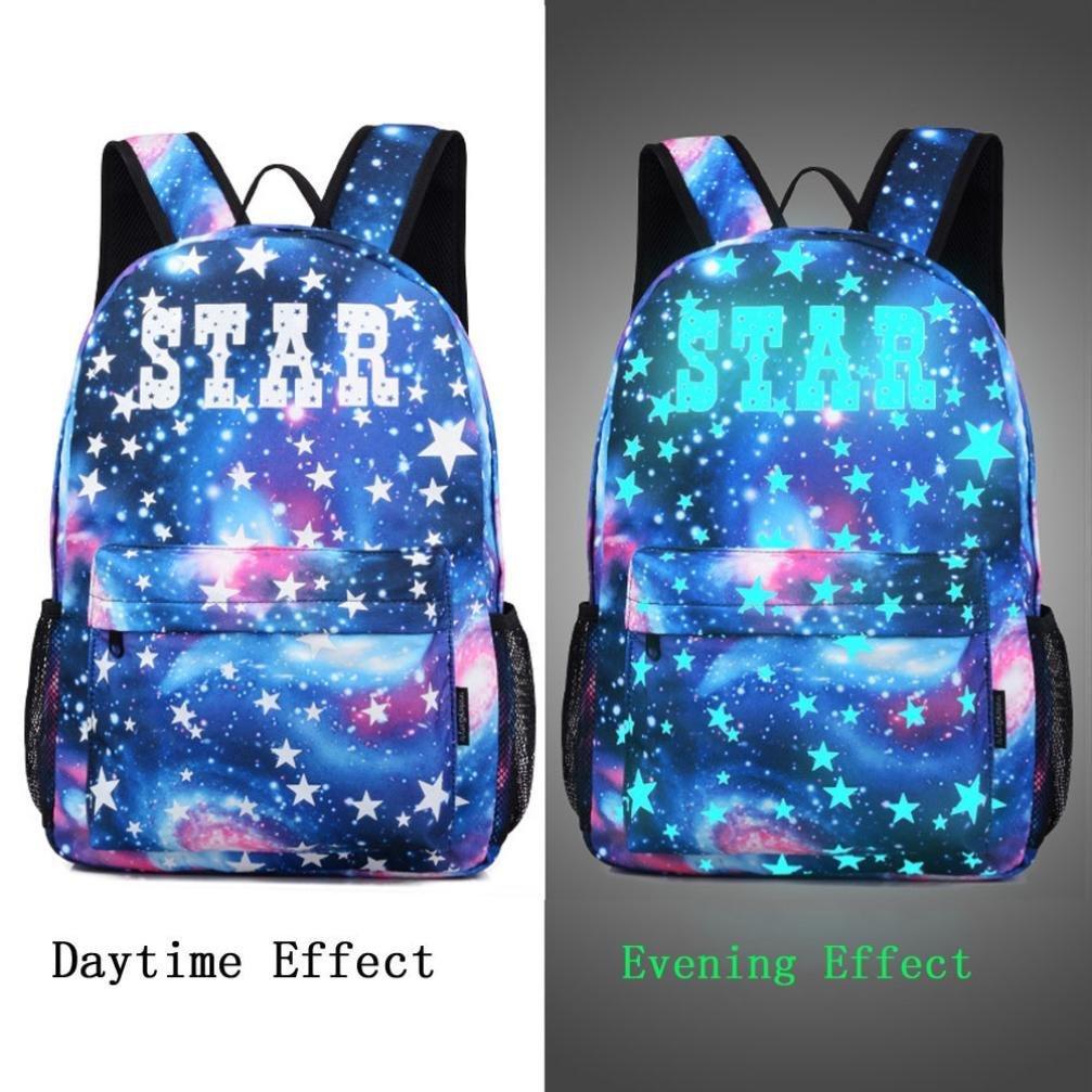 Amazon.com: Creazy Galaxy - Mochila de viaje para escuela o ...