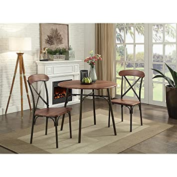 Amazon.com - Kitchen Table Set 3 Piece Dining Room Breakfast ...
