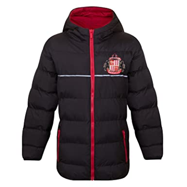 Sunderland AFC Official Football Gift Mens Shower Jacket Windbreaker