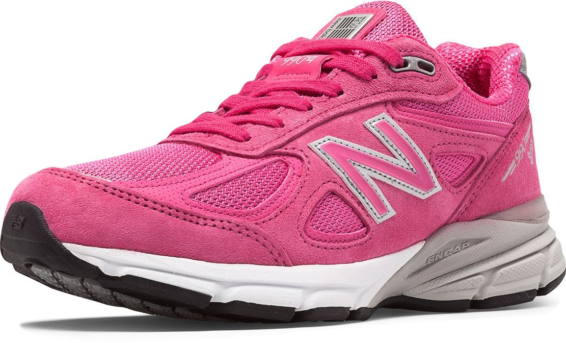 New Balance Women's w990v4 Running Shoe B019CVC4M4 13 2A US|Pink/Purple
