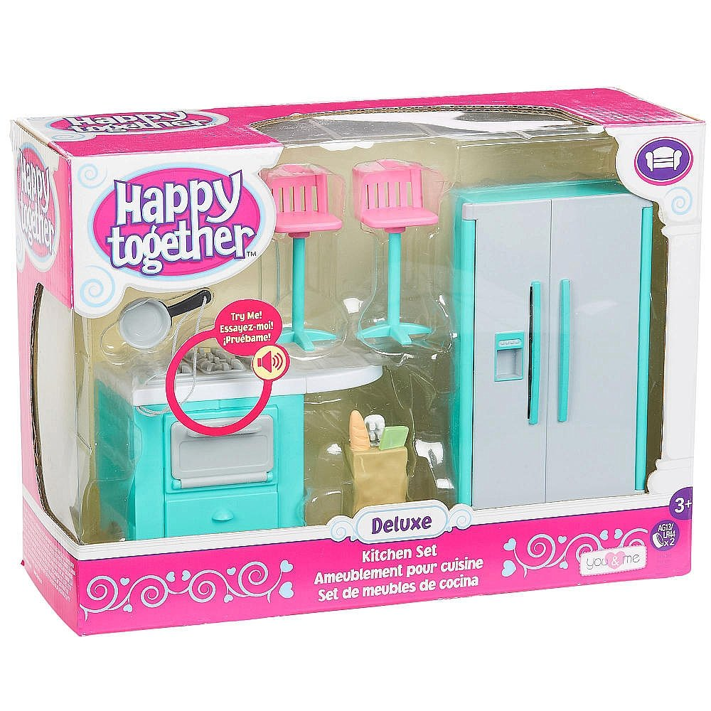 Amazon.com: You & Me Happy Together Deluxe Kitchen Set: Toys & Games