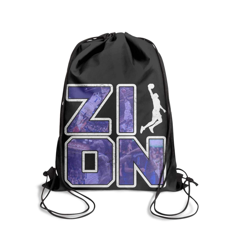 Bags Cinch Pack Cool Z1on-Logo Drawstring Bags for Women /& Men