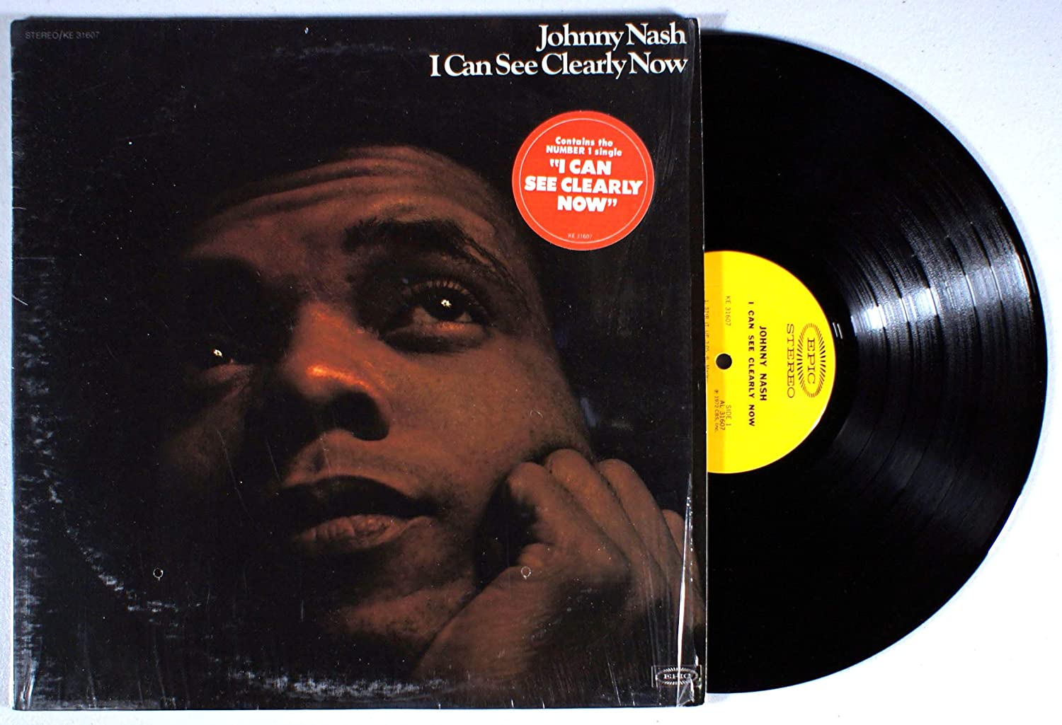 Johnny Nash Johnny Nash I Can See Clearly Now Vinyl Record Amazon Com Music