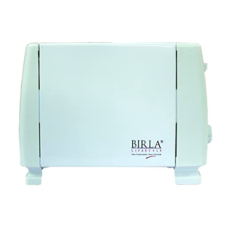 Birla BEL-222 2 Slice Pop Up Toaster(White) Pop-up Toasters at amazon