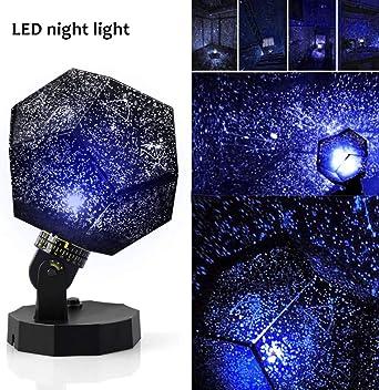 Sunnec DIY luz de noche bebé estrella proyector, Star Sky luz de ...