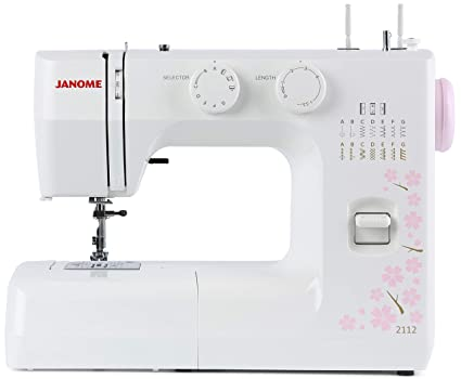 Janome 40 Cherry Blossom EasytoUse Sewing Machine With 40 Adorable Stitch Length Sewing Machine