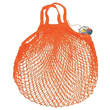 French Style Net Shopping Bag - Choice Of Colour ( Orange ...