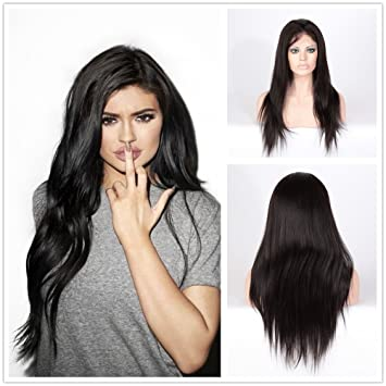 Wigsroyal 7A Unprocessed Indian Yaki Wigs for Black Women Full Lace Wigs  Human Hair Lace Wigs 75f1e1291
