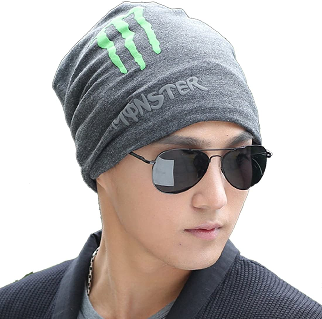 KUYOU Unisex Winter Ghost Claws Wool Cap Knitting Skull Hat