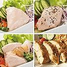 uchipac 国産サラダチキンセット 無添加・無菌・常温保存 賞味期限 1年 4種×各2個
