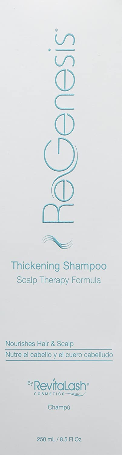 Amazon.com: RevitaLash Cosmetics, ReGenesis Thickening Shampoo Scalp Therapy Formula, 8.5 Fl Oz: Luxury Beauty