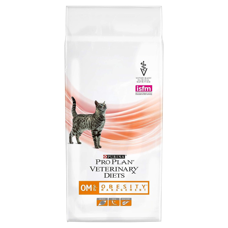 Purina Pro Plan Vet Feline Om 4X1.5Kg, 1.5kg: Amazon.es ...