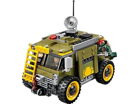 LEGO Tortugas Ninja - Playset con 4 Minifiguras (79115)