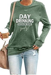 Adult Hooded Sweatshirt zerogravitee Day Drinking Because 2020 Sucks