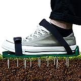 Gelrova ガーデンシューズ シューズ ガーデン 芝生スパイク 芝生穴あけ用 足取り付け 園芸用 農業用