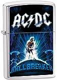 Zippo ACDC Ballbreaker Brushed Chrome Lighter