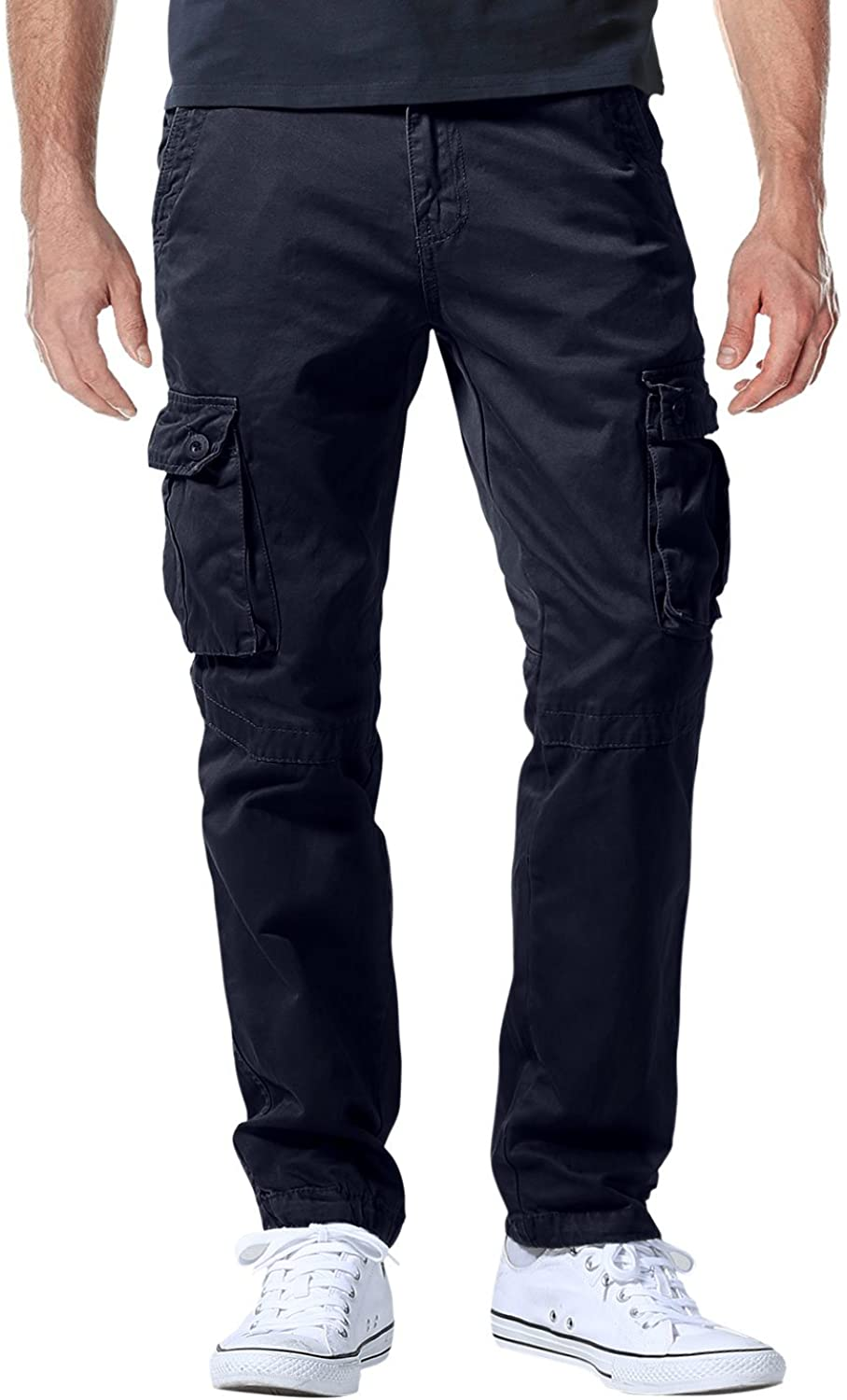 Match Mens Athletic-Fit Cargo Pants