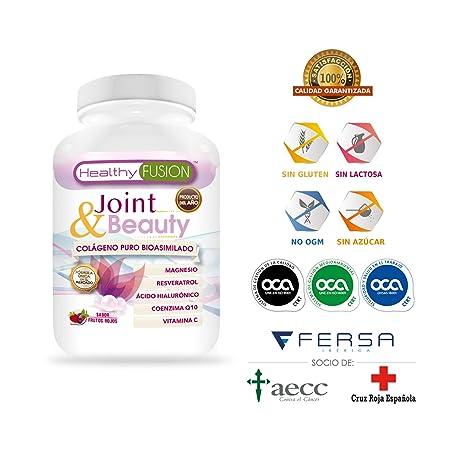 Exclusivo Colágeno Puro Bioasimilado + Ácido Hialurónico + Magnesio + Coenzima Q10 + Resveratrol + Vitamina C - Piel nutrida y sin arrugas – ...