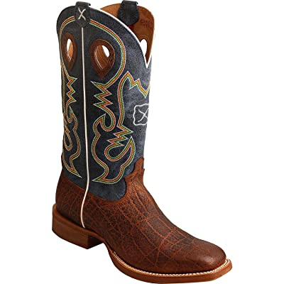 TWISTED X Men's Ruff Stock Leather Western Boot | Western