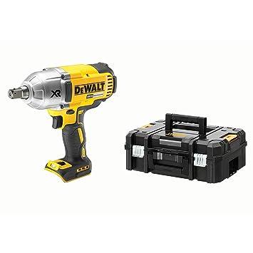 DeWalt DCF899NT-XJ Llave Impacto sin escobillas XR 18V sin Cargador/batería con maletín TSTAK, 18 V: Amazon.es: Bricolaje y herramientas