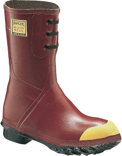 Honeywell seguridad 6145 – 9 Ranger de goma aislante Mid Pac botas de seguridad para hombre