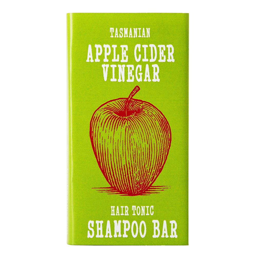 Apple Cider Vinegar Hair Tonic Clarifying SHAMPOO BAR | Shiny Healthy Hair | All Natural | Chemical Sulfate Free | Helps Dandruff | Beauty and the Bees in Australia's Wild Island Tasmania