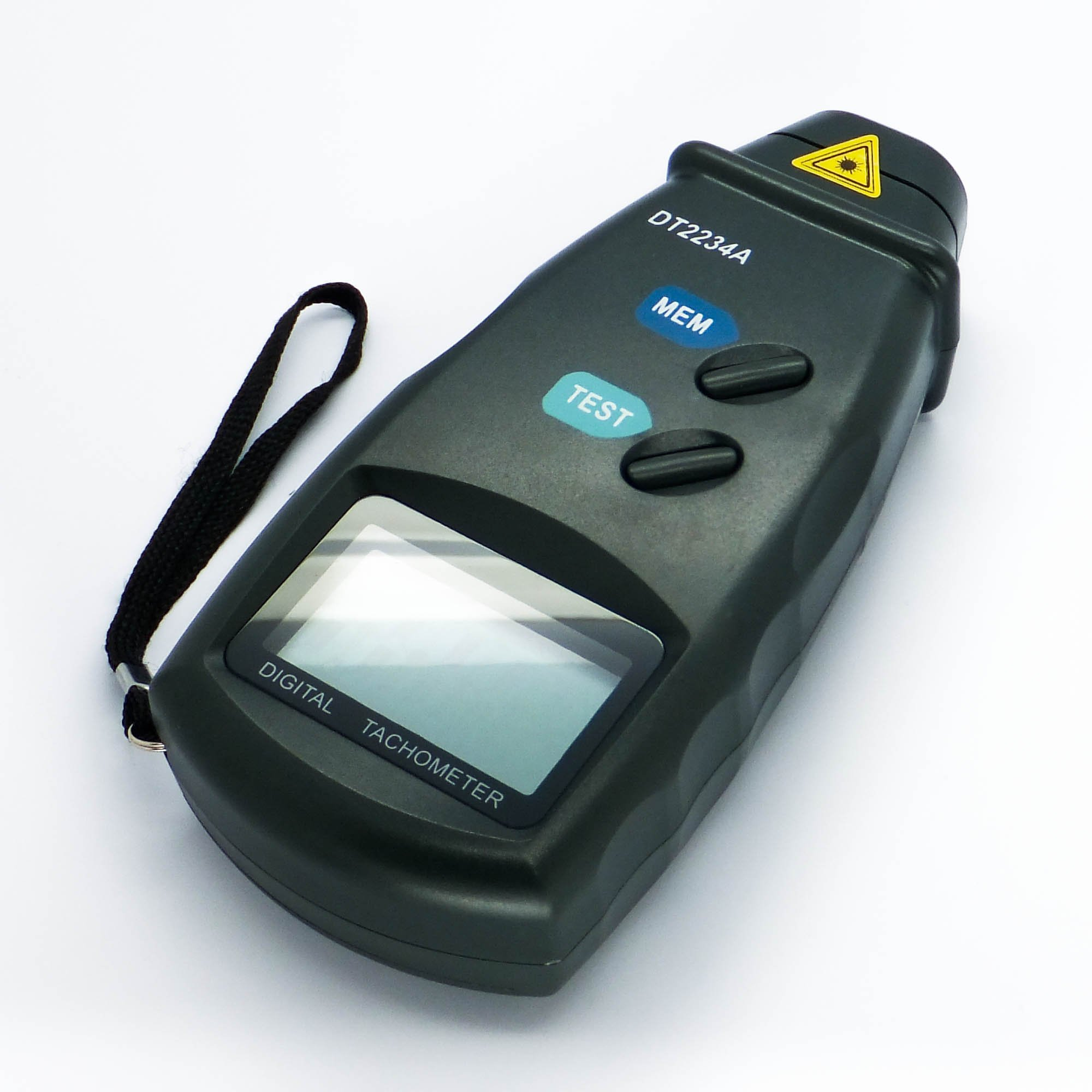 Digital Photo Laser Tachometer Non Contact Tach RPM Meter by CyberTech