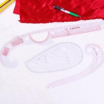 Hvlystory Pattern Maker Fashion Designing Ruler Multi Purpose Garment Making Marking Curve Ruler