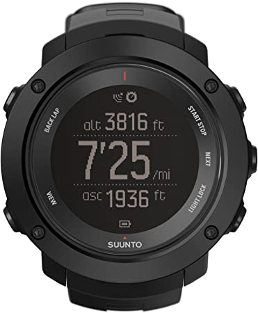 Suunto Ambit3 Vertical Black Run Watch - AW16 - One - Black