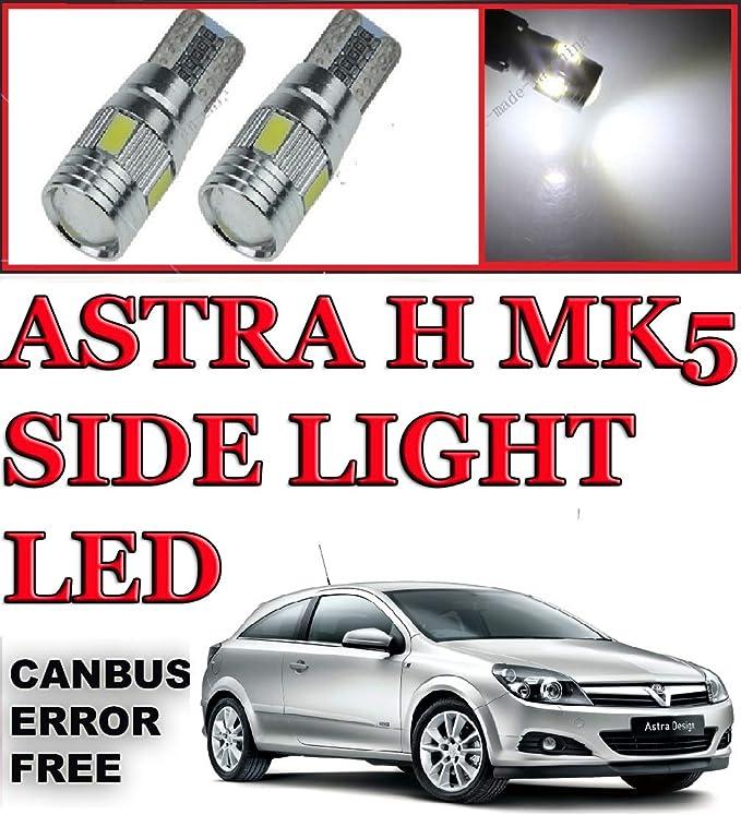 MG ZR Blue 4-LED Xenon Bright Side Light Beam Bulbs Pair Upgrade
