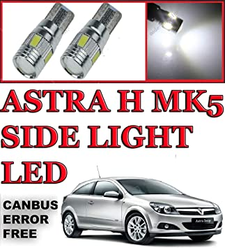 H7 501 55w Super White Upgrade Xenon Low//Canbus LED Side Light Bulbs