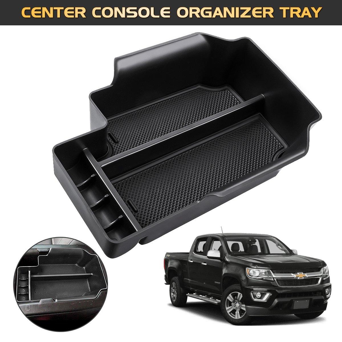 Amazon Com Audew Car Center Console Organizer Tray For Center Chevy
