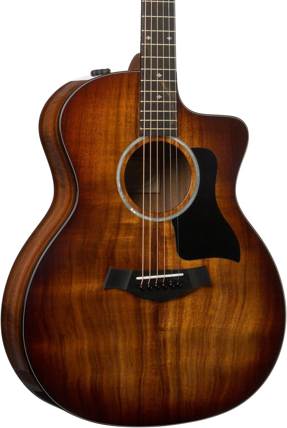 taylor 200 series deluxe 224ce k grand auditorium acoustic electric guitar guitar affinity. Black Bedroom Furniture Sets. Home Design Ideas