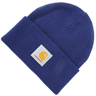 Carhartt WIP Short Watch Cap Beanie Hat - Royal 1-Size  Amazon.co.uk   Clothing 4c6d0d7dab6