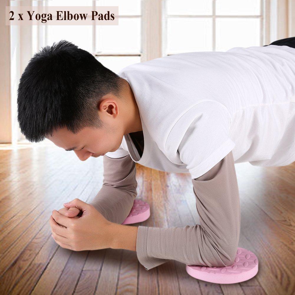 Codo Rodilla Pad Cojín, 2pcs Yoga entrenamiento formación ...