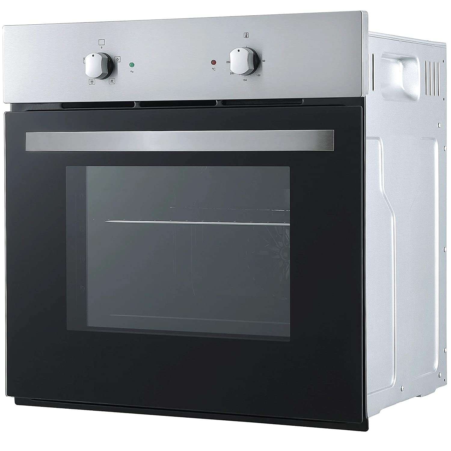 Cookology Fan Oven Cast-Iron//Stainless Steel Gas Hob /& 60cm Cooker Hood Pack