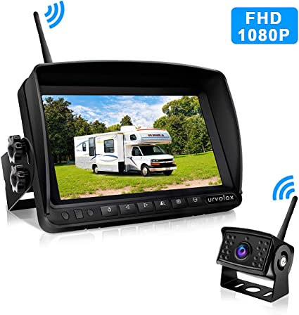 "7/"" DIGITAL REAR VIEW BACKUP CAMERA SYSTEM FOR MOTORHOME,TRUCK"
