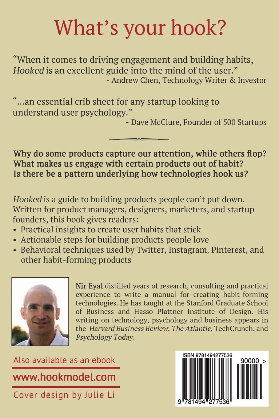 Hooked A Guide To Building Habit-forming Products Pdf