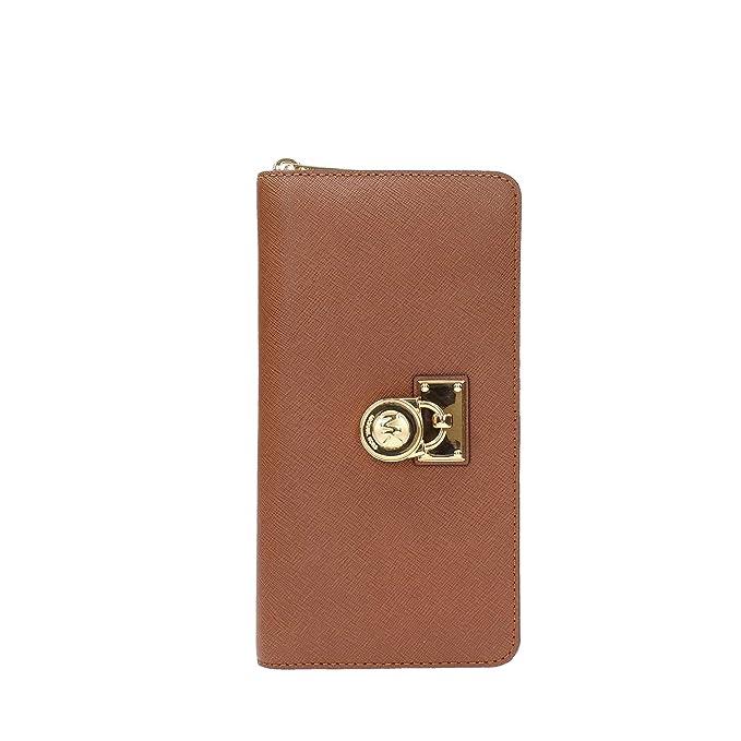b48859e78b774 Michael Kors Hamilton Traveler Saffiano Leather Large Zip Around Wallet -  Luggage  Amazon.ca  Clothing   Accessories