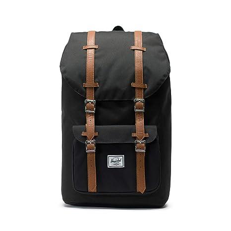 Amazon.com   Herschel Little America Backpack-Black   Casual Daypacks 3edaf75bde3e